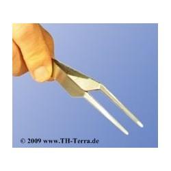 spring steel tweezers...