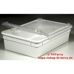 BraPlast 0,8l 18,5x12,5x5cm white